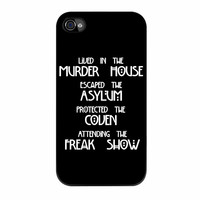 American Horror Story Four Seasons iPhone 4s Case
