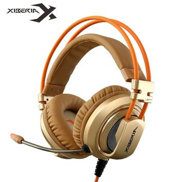 Over Ear Wired Gaming Headphones With Microphone Mic