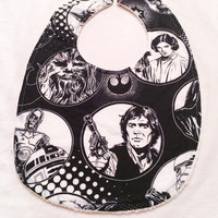 Get Your Geek On - Baby Bib - Organic Cotton and Organic French Terry Cloth