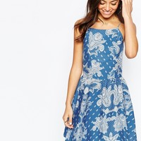 New Look Paisley Cami Dress