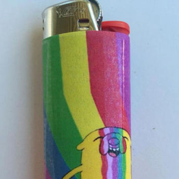 UFO and Aliens custom BIC lighter