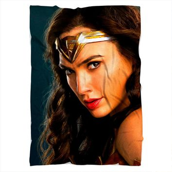 Wonder Woman Face Blanket
