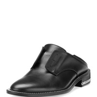 Givenchy Laceless Oxford Mule Slide, Black
