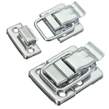 MTGATHER Stainless Steel Chrome Toggle Latch For Chest Box Case Suitcase Tool Clasp 43mm H144 Lowest Price