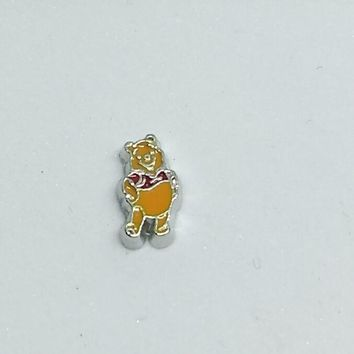 Standing Winnie the Pooh Floating Charm