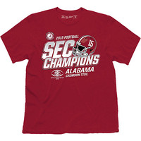 University of Alabama Crimson Tide 2015 SEC Football Champions T-Shirt