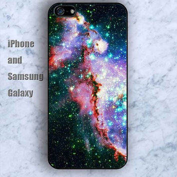 Starry sky Cattle Shine iPhone 5/5S case Ipod Silicone plastic Phone cover Waterproof