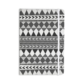 "Nika Martinez ""Black Forest"" Gray White Everything Notebook"