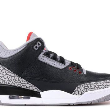 DCCK Air Jordan Retro 3's 'Black Cement'