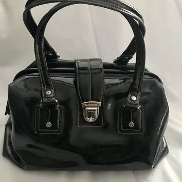 Vintage Liz Claiborne Black Leather Purse