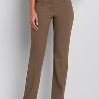 the smart IT fit bootcut pant in mocha | maurices