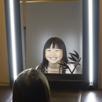 2pcs Makeup mirror White LED light Professional Series