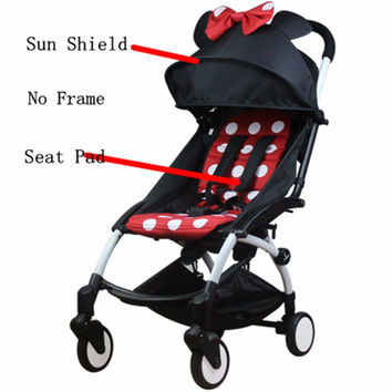 Colors Pram Yoya Baby Stroller Mat Set Seat Pad Seat Cushion Cover Shade Shed And Pad Baby Carriages Stroller Accessories