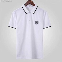 KENZO 2018 Spring and summer nwe business leisure lapel T-shirt polo shirt ღ020