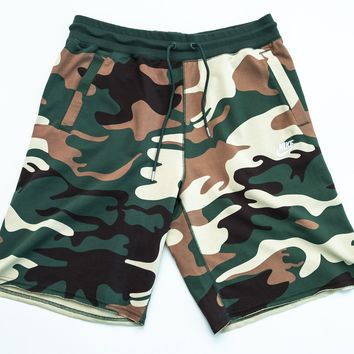 Nike Men's NSW Sportswear Gorge Green Camo Shorts
