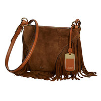 Handbags | New Arrivals  | Suede Fringe Crossbody Bag | Lord and Taylor