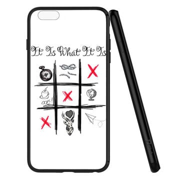 One Direction Louis Tomlinson Tattoos iPhone 6 | 6S Case Planetscase.com