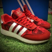 Best Online Sale Bape x Adidas INIKI Red Boost Sport Running Shoes