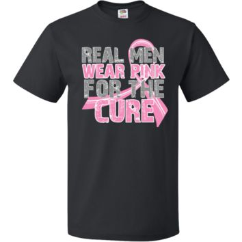 Real Men Wear Pink Breast Cancer Shirts