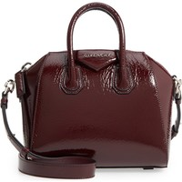 Givenchy Mini Antigona Patent Leather Satchel | Nordstrom