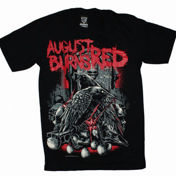 New Type System August Burns Red Band Rescue & Restore Men NTS t-shirt sz.S,M,L,XL,XXL