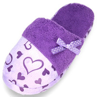 Heart Love Shape Cartoon Butterfly Slippers * free shipping *