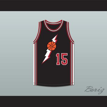 Larry 15 Black Basketball Jersey In the House