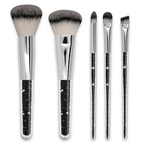 GOTH Glitter 5Pcs Makeup Brush Set