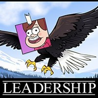 Gravity Falls - Leadership Poster