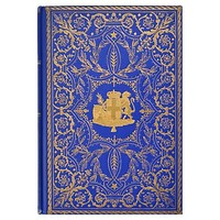 One Kings Lane - To the Manor Born - Decorative Gilded Book
