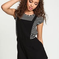 Black X Back Shortall - LoveCulture