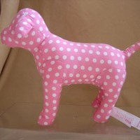 Victoria's Secret PINK Spotted Polka Dot Plush DOG