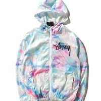 DCCKHQ6 Stussy 'Ice-Cream' Windbreaker