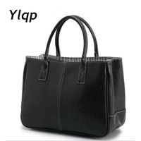 New casual handbags women leather handbag 10 colors female bag handbags women famous brand briefcase bolsas femininas 2017