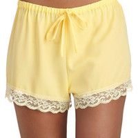 Draped in Dreams Sleep Shorts | Mod Retro Vintage Underwear | ModCloth.com