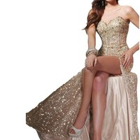 Mermaid Sequins Prom Bridesmaid dresses for Wedding Cocktail Evening Party