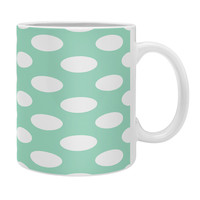 Allyson Johnson Mintiest Polka Dots Coffee Mug