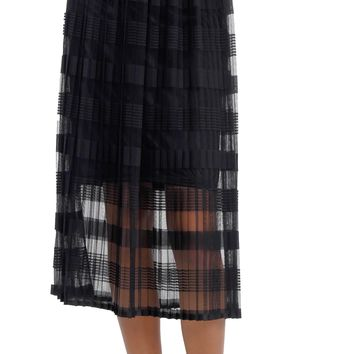 Women's Organza Midi Skirt