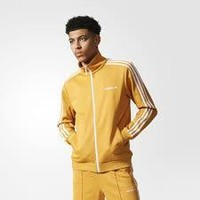 KUYOU Adidas Originals Men's Beckenbauer Track Jacket (Tactile Yellow/White)