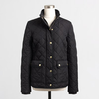 Factory quilted jacket