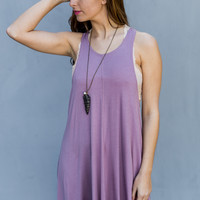 Sedona Dress in Light Purple