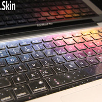 Bright universeMacbook Keyboard Decal Macbook by MaMoLIMITED