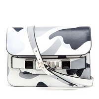 PROENZA SCHOULER   PS11 Mini Camouflage Leather Satchel   Browns fashion & designer clothes & clothing