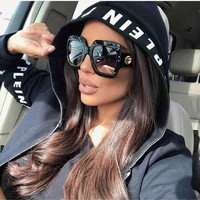 2018 Newest Oversized Square Women Sunglasses (Free Shipping 20-38 days)