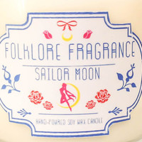 Sailor Moon Sailor Moon Inspired Scented Soy by FolkloreFragrance