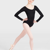 Free Shipping - Adult Scoop Neck Long Sleeve Dance Leotard by THEATRICALS