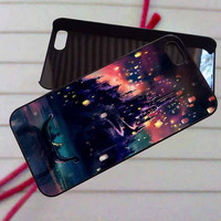 Disney Tangled Castle Lights Art - case iPhone 4/4s,5,5s,5c,6,6+samsung s3,4,5,6