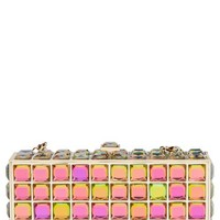 Natasha Couture Box Clutch