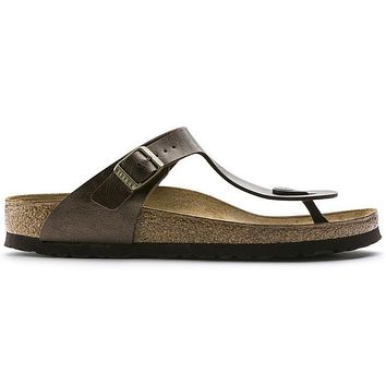 Birkenstock Gizeh Birko Flor Graceful Toffee 0845221/0845223 Sandals - Ready Stock