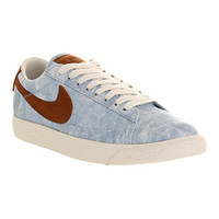 Nike Blazer Low Vintage Ice Blue Dark Tan Exclusive - Unisex Sports